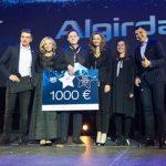 Dešimt jaunųjų ateities kūrėjų buvo apdovanoti statulėlėmis ir 1000 eurų stipendija